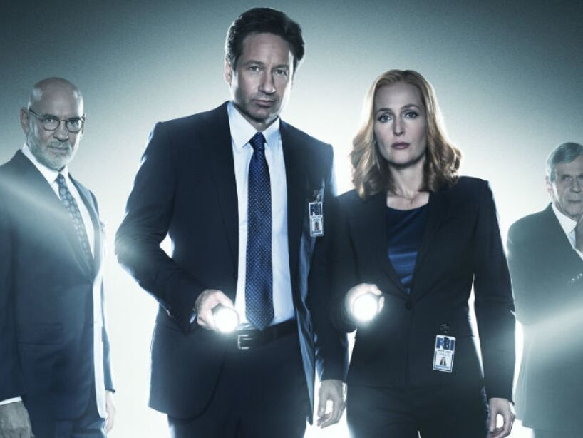 3. The X Files (1993, 2002) de Fox.
