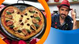 Receta; Pizza corazón