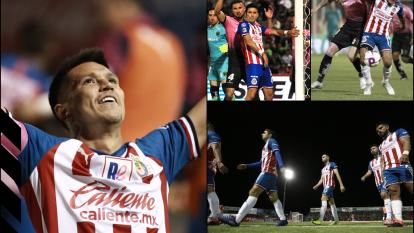 Con goles de Jesús Molina y Javier 'Chofis' López, el Rebaño Sagrado sumó una victoria clave para pelear por la calificación.