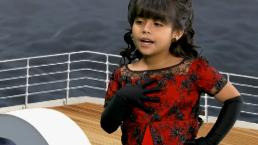 Nayleah se sube al Titanic... ¿en Acapulco?