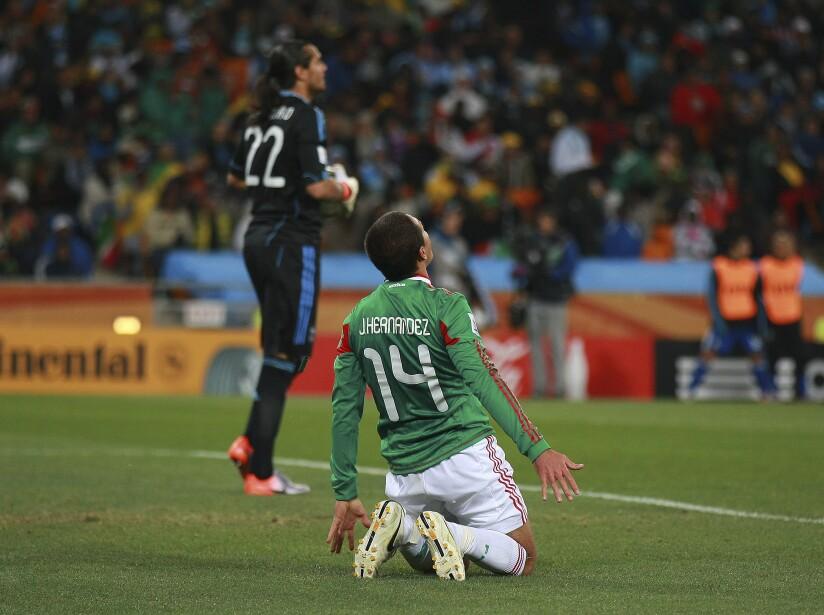 Argentina v Mexico - 2010 FIFA World Cup