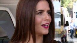 Claudia Álvarez graba escenas extremas