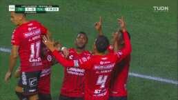 Bryan Angulo fusila a Talavera y logra el 1-0 para Xolos