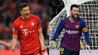 Messi vs Lewandowski por la gloria continental | El análisis de los astros del momento que buscarán un boleto a las semifinales de la Champions.