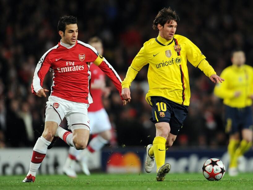 Barcelona's Argentine striker Lionel Mes