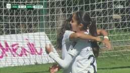 ¡Gran jugada del Atlas! Guadalupe Arce marca el 0-2 ante el Toluca