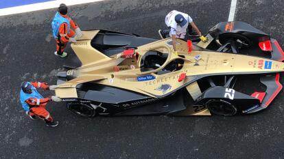 Los pilotos definieron la parrilla del E-Prix en el Autódromo Hermanos Rodríguez.