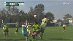 ¡Llegó el primer gol de 2020! Estefanía Fuentes anota el 1-0