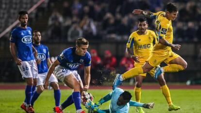 El 'Tecatito' Corona jugó los 90 minutos con el Porto que mantiene el segundo lugar debajo del Benfica.