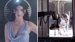Dua Lipa compartió el detrás de cámaras de su nuevo video 'Levitating'