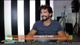 Cristián de la Fuente listo para los premios TVyNovelas