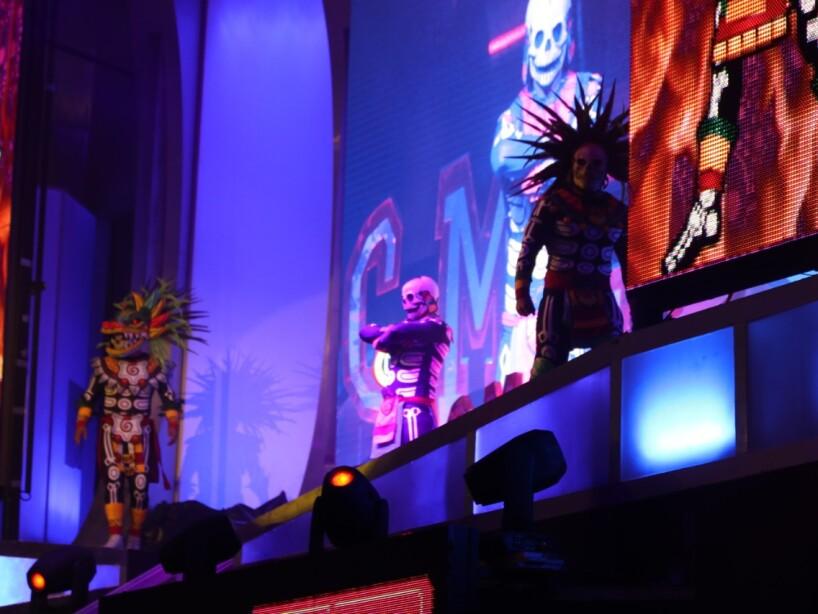 Atlantis Jr., Flyer y Fugaz vs Hechicero, Hijo del Villano III y Templario.