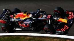 Verstappen le robó la victoria a Hamilton en Inglaterra