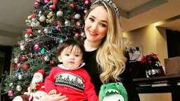 Sherlyn recibe el mejor regalo de Navidad; su bebé André le dijo 'mamá'
