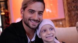 Maluma cumplió el sueño de una niña con cáncer