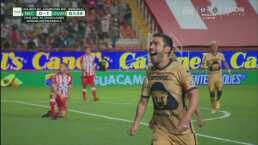 ¡Sacaron las garras! Juan Pablo Vigón pone arriba 0-1 a Pumas