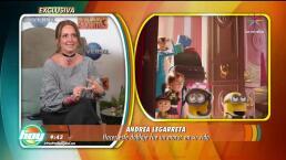 Descubre por qué Andrea Legarreta está agradecida con Mi Villano Favorito 3