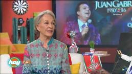 Isela Vega nos platica sus anécdotas con Juan Gabriel