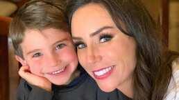Video: Inés Gómez Mont le hace exámen de actuación a su hijo Bosco y el resultado es muy gracioso