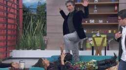 Sexo sentido: Galilea Montijo y Raúl Araiza recrean divertida escena de pasión
