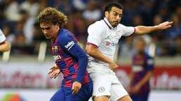 Antoine Griezmann debutó; Barça perdió ante el Chelsea de Lampard