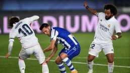 Jalan del pelo a Marcelo y el árbitro negó penalti al Real Madrid