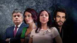 De la ambición a la violencia: conoce a Eugenio, Sonia, Fernanda y Fabricio de Imperio de Mentiras