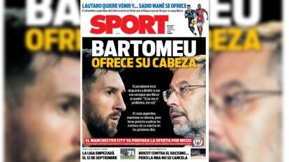 El astro argentino y el conjunto blaugrana están en el 'ojo del huracán' y acaparan las portadas de los periódicos.