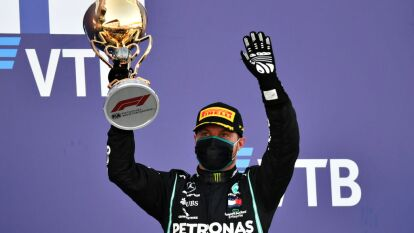 Valtteri Bottas se lleva el Gran Premio de Sochi