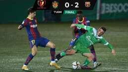 Pese a fallar dos penales, Barcelona avanzó en Copa del Rey.