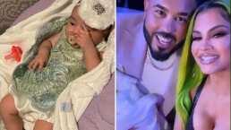 Bebé de Natti Natasha asiste a Premios Juventud, luciendo hermoso vestido y un chupón de diamantes