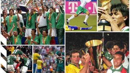 Copa Oro, Copa Confederaciones, Mundial Sub-17 y Juegos Olímpicos. El Tri sabe ganarle finales a Brasil en diversas competiciones.