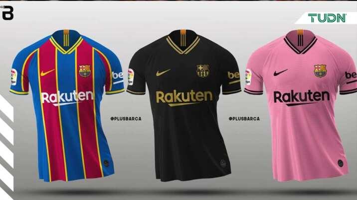 zapatillas de skate estilo de moda Nuevos objetos Primera imagen de cuarta playera del Barça para esta campaña ...