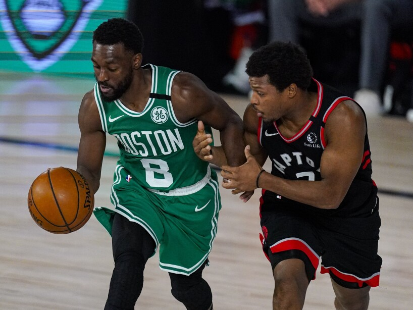 Raptors Celtics Basketball