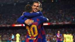 Griezmann reveló cómo ha sido compartir con Messi y Suárez