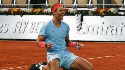 Nadal empata a Federer con 20 Grand Slam tras ganar Roland Garros