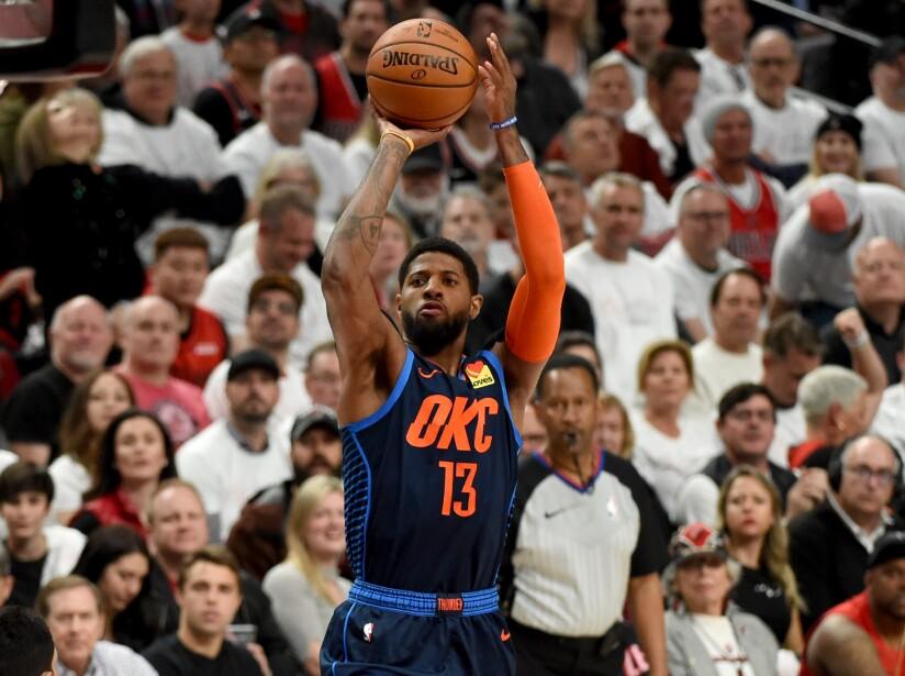 Oklahoma City Thunder v Portland Trail Blazers - Game Five