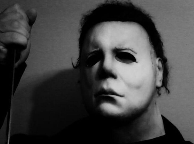 8. Michael Myers: El villano de Halloween es especialista en asesinar niñeras, y básicamente todo lo que se cruce en su camino.