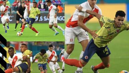 Con gol de Alfredo Morelos al minuto 90+4, Colombia se impone por la mínima a Perú.
