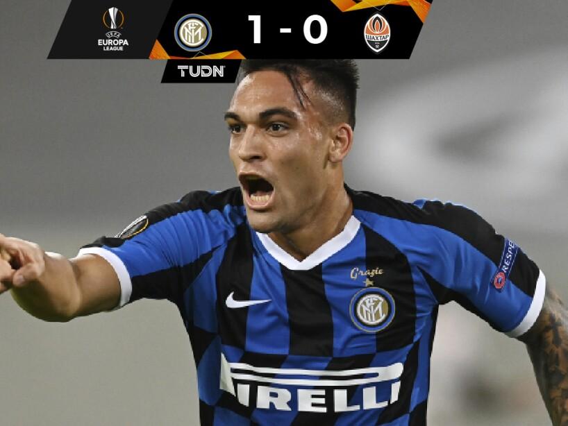 Inter 1-0- Shakhtar