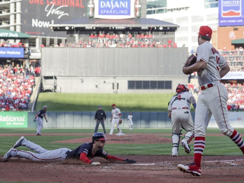 NLCS Nationals Cardinals Baseball