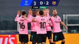 Messi sentenció la victoria de Barcelona en casa de la Juventus