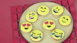 Cocina de hoy: Galletas glaseadas y decoradas con emojis para los pequeños del hogar