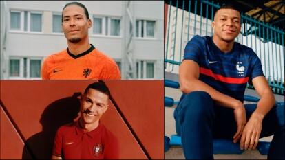 Ronaldo, Mbappé y otras estrellas, estrenan camisetas