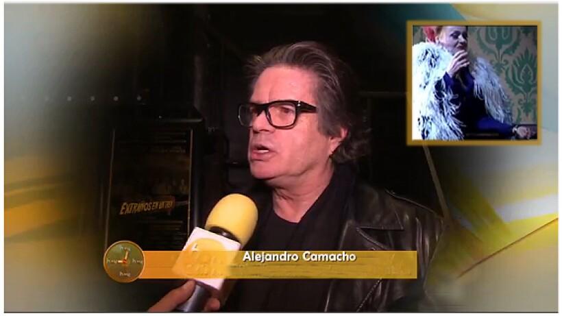 ¡Alejandro Camacho se convertirá en mujer!