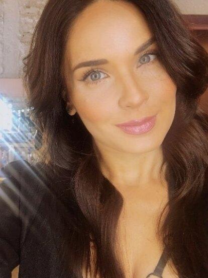 Adriana Louvier nació un 18 de septiembre en la Ciudad de México.