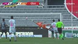 ¡De francotirador! George Corral adelanta al Puebla 0-1 con un golazo