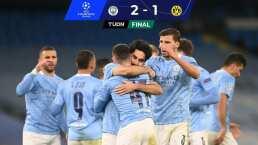 Phil Foden rescata la tragedia del Manchester City ante Borussia Dortmund