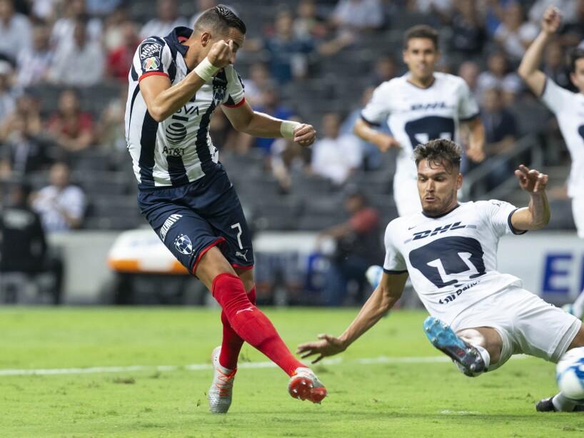 Monterrey arrancó una convincente victoria ante Pumas, que volvió a mostrarse endeble en defensa. Funes Mori y Maxi Meza anotaron para Rayados.