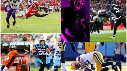 Las mejores escenas de los partidos del futbol americano efectuados en la Semana 9.